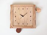 木の葉の時計 【振り子タイプ】